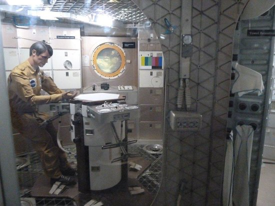 Smithsonian National Air and Space Museum: Dans la station spatiale