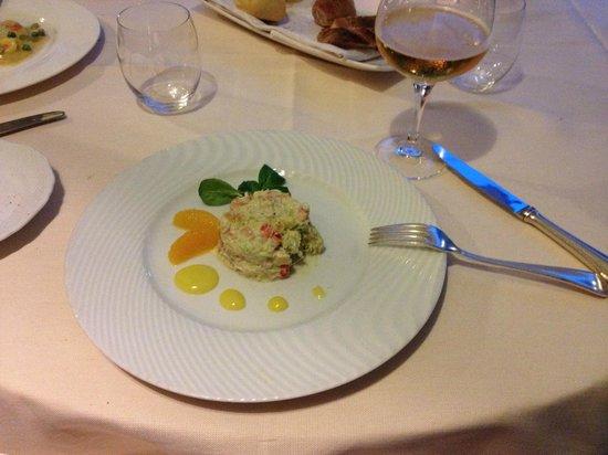 Colleoni dell'Angelo Restaurant : Insalata di sranchio