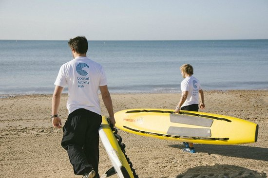 The Coastal Activity Park: Check our our website for our range of professional Lifeguarding courses and qualifications.