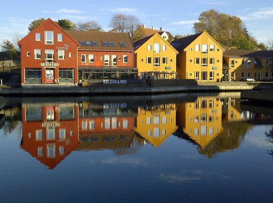 Radisson Blu Caledonien Hotel, Kristiansand : Kristiansand harbour in Norway