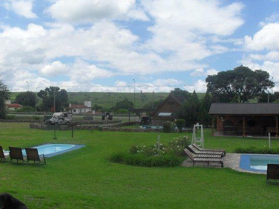 Cabanas San Lorenzo: vista desde la cabaña