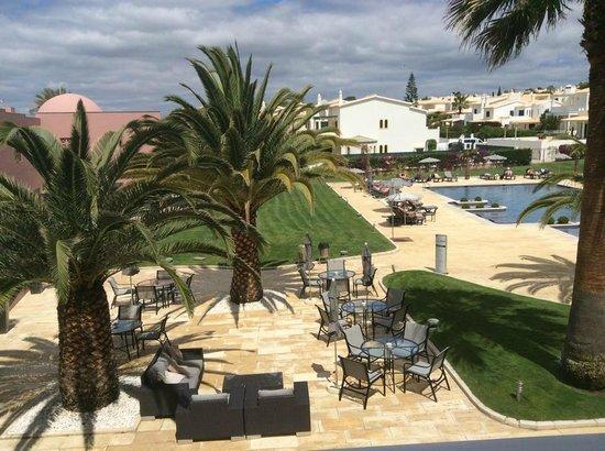 Vila Galé Praia: View from balcony