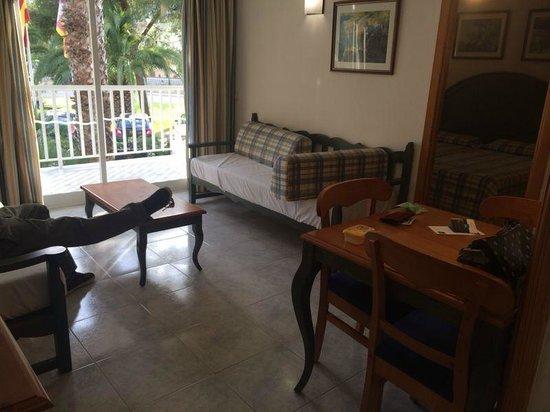 Aparthotel Orquidea Playa: sala