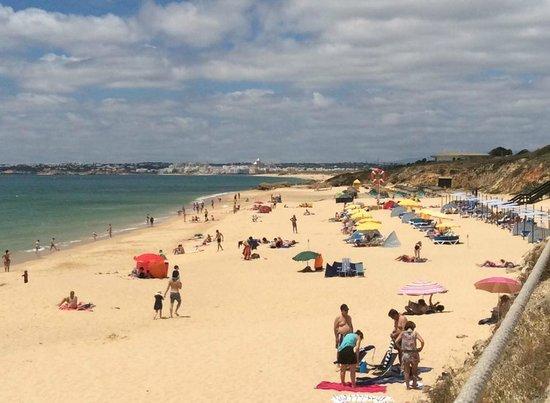 Vila Gale Praia: Local beach
