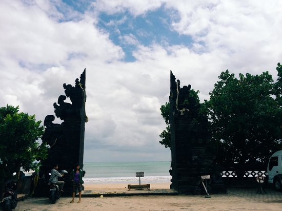 Jimbaran Bay : Area for parking