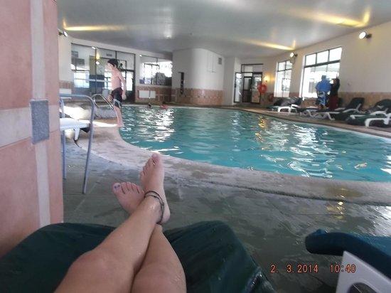 Gran Hotel Pucon: Una de las piscinas intenas