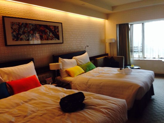Royal Park Hotel: Double Double Room...