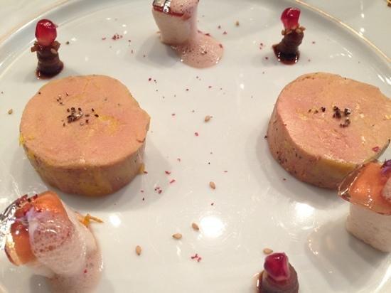 Loiseau des Vignes : cold foie gras