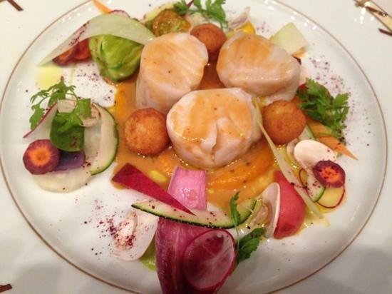 Loiseau des Vignes : fish dish