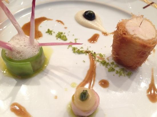 Loiseau des Vignes : chicken