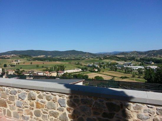 Holiday Farm Vocabolo Palazzo: panorama solomeo