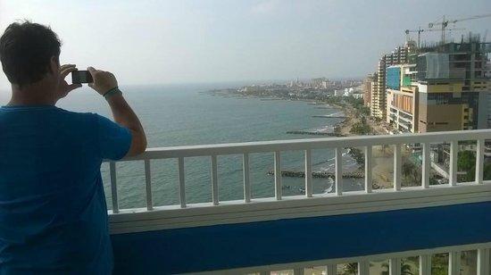 Decameron Cartagena : VISTA DESDE PISO 16