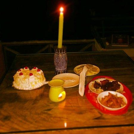 Olives Homestay: aniversary celebration
