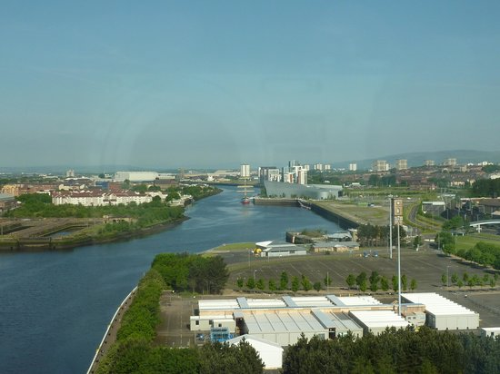 Crowne Plaza Glasgow : view from room