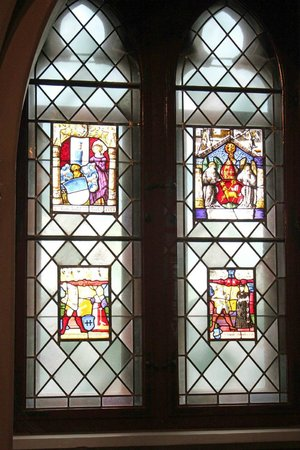 Burg Hohenzollern: Hohenzollern Castle - 12th Century Stained Glassed Chapel Windows