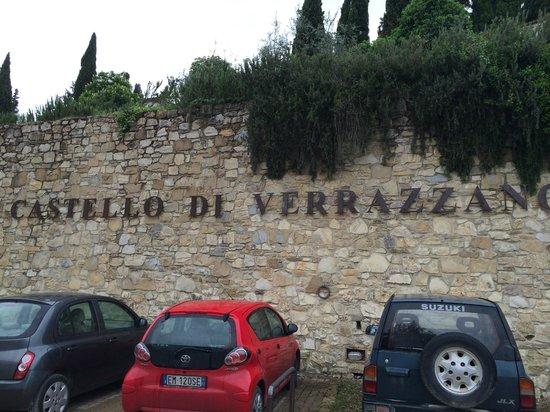 Castello di Verrazzano: Welcome