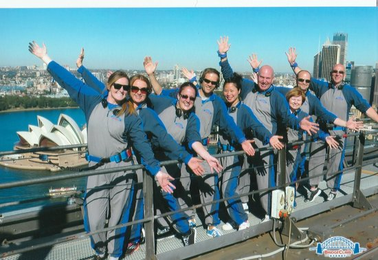 BridgeClimb : Our climb group!