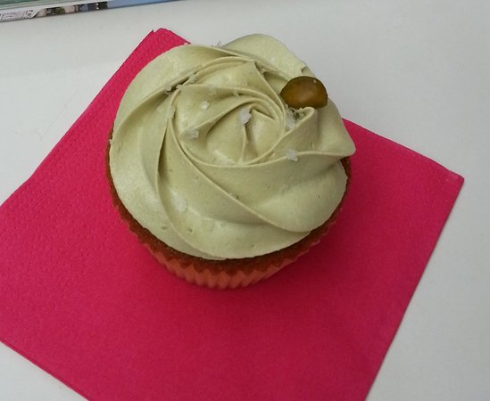 Bertie's CupCakery : cupcake vaniglia e pistacchio...