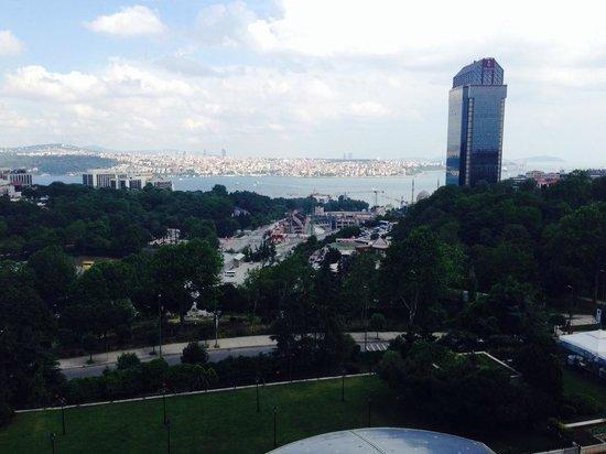 Hilton Istanbul Bosphorus: view from my room of bosphorus