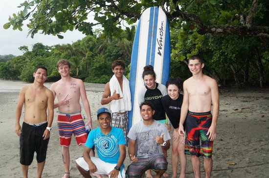 Blue Horizon Surf and Trips: our 1st crew