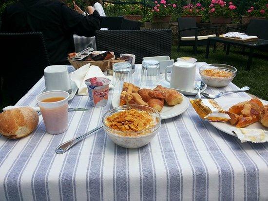 Hotel Mignon Meuble : Завтрак в отеле Миньон