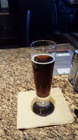 BJ's Restaurant & Brewhouse: Black Cherry Creme Soda