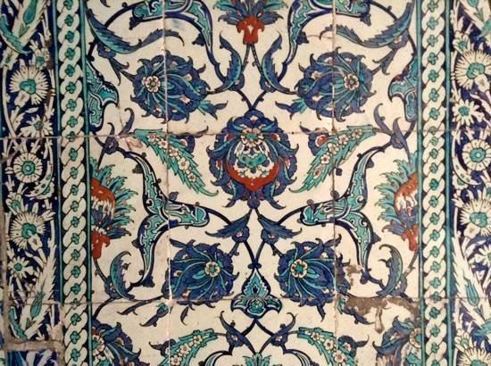 Hotel Darussaade Istanbul : mosaique