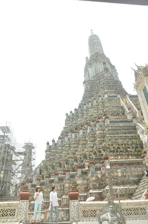 Temple de l'Aube (Wat Arun) : temple of dawn 1