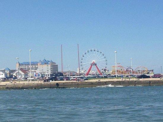 Ferris Wheel from Sea Rocket