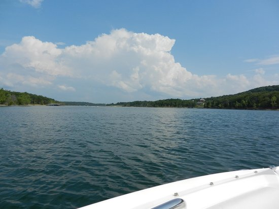 Table Rock Lake: Partial view of our inlet/fingerlet
