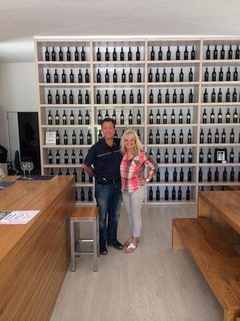 Azienda Agraria Saio: The wine shop!