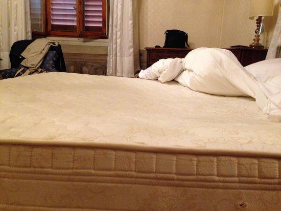 Martelli Hotel: Mattress
