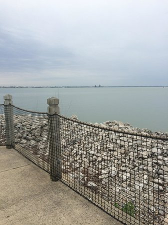 Cedar Point's Lighthouse Point: Boardwalk view