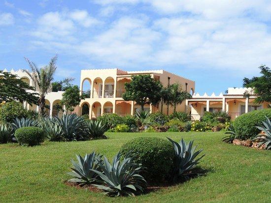 Hideaway of Nungwi Resort & Spa: LES CHAMBRES DANS LE PARC