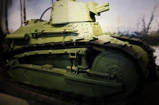 U.S. Army Heritage and Education Center : WWI tank