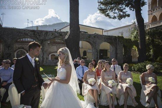 Wagner Day Tours: wedding in the belvedere principessa piemonte Ravello  Enrico Capuano photographer Mario Capuano