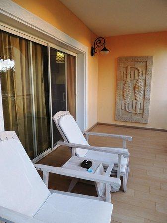 Hideaway of Nungwi Resort & Spa: TERRASSE DE LA CHAMBRE