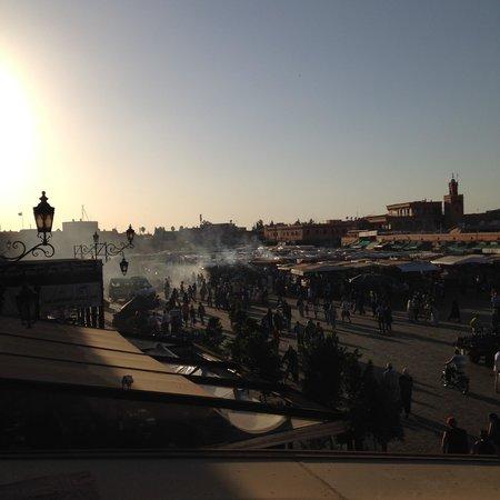 Riad Dar Saad : Place JEMMA EL FNA