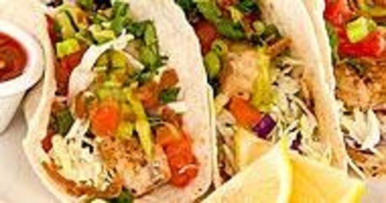 Sunshine Grill : Yummy fish tacos