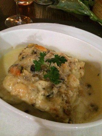 Ristorante Laguna: Lasagne di pesce