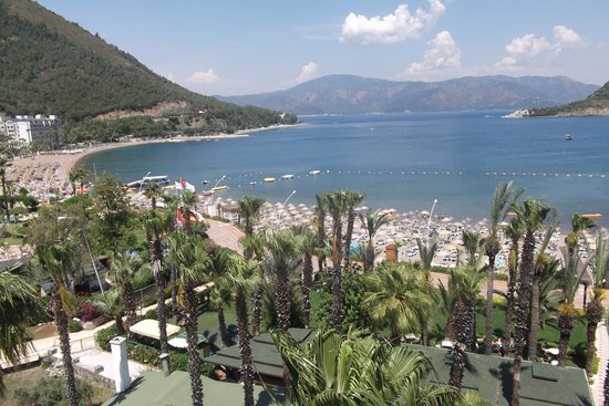 Hotel Aqua: View to North-East (Marmaris)