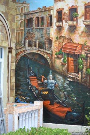 Hotel Playa Coco: Mural