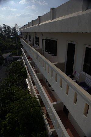 Phuket Heritage Hotel: С балкона во двор