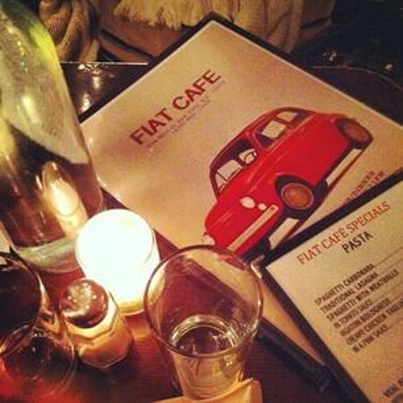 Photo of Italian Restaurant Fiat Cafe at 203 Mott St, New York, NY 10012, United States