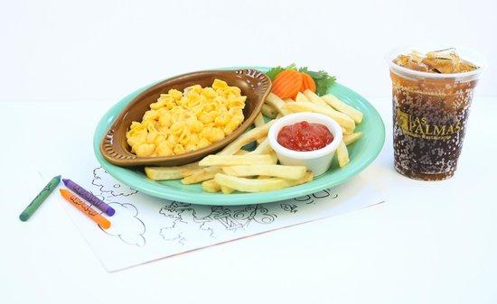Las Palmas Mexican Restaurant: Kid's Mac & Cheese
