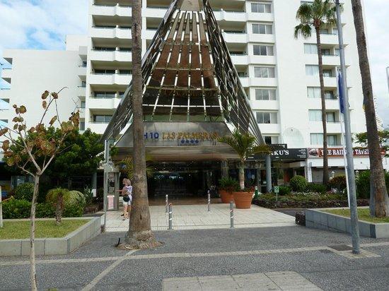 H10 Las Palmeras: façade de l'hôtel