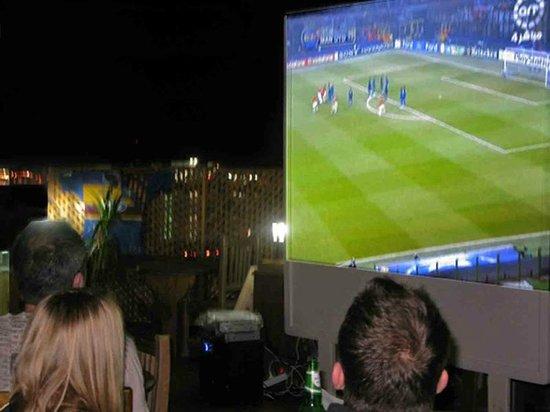 Red Sea Relax Resort: Big Screen Sports