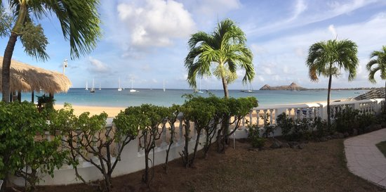 Royal St Lucia Resort and Spa : Restaurant view