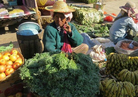 Pine Hill Resort, Kalaw: il mercato di kalaw