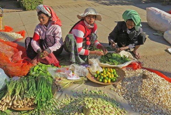 Pine Hill Resort, Kalaw: il mercato
